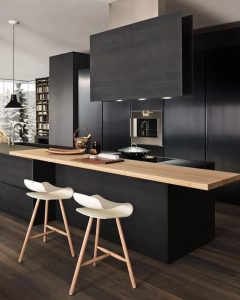 Cocina negra 5